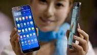 Gewinn von Samsung geht etwas zurück