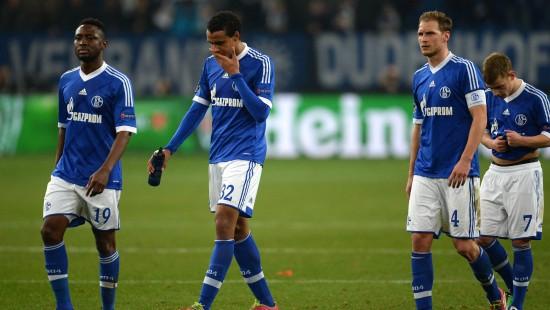 Schwere Niederlage für Schalke