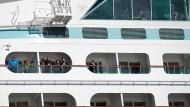 Kreuzfahrt nach Massenerkrankungen abgebrochen