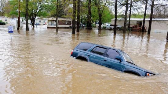 Stürme und Überschwemmungen in den Vereinigten Staaten