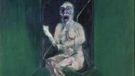 """Abstrakter, doch physisch spürbarer Schmerz: Francis Bacons """"Studie für die Kinderschwester in dem Film Panzerkreuzer Potemkin"""" von 1957."""