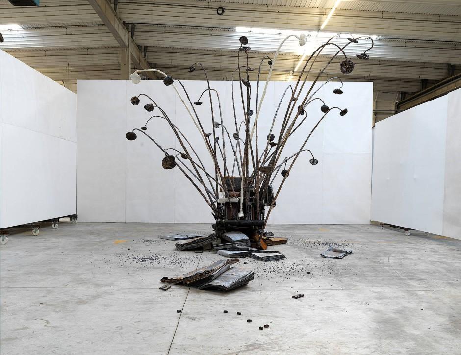 """Beflügelndes Blei: Anselm Kiefers """"Der verlorene Buchstabe"""", 2011-2017."""