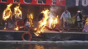 Protestaktion Corré
