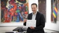 Fundraising, Organisation – und kuratieren kann er auch noch: Max Hollein, der das Museumsleben Frankfurts in den vergangenen Jahren prägte wie niemand sonst.