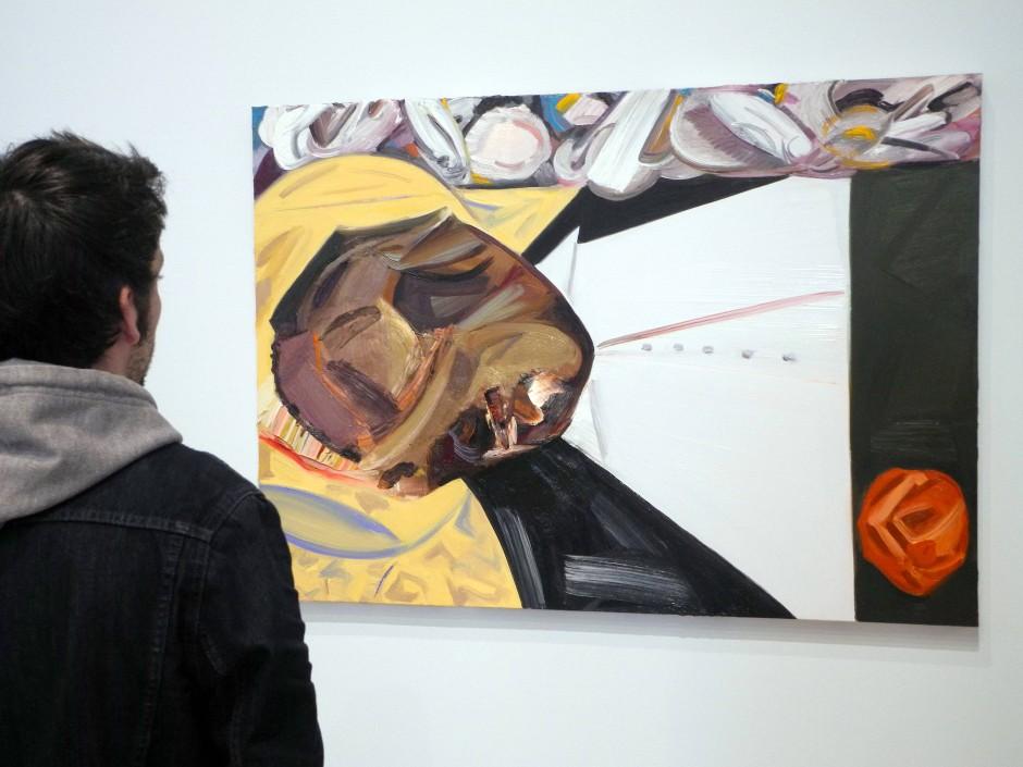 """Künstler forderten die Abhängung des Gemäldes """"Open Casket"""" der Künstlerin Dana Schutz."""