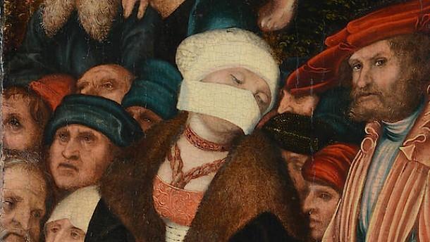 Auch die Lutherin trug Mundschutz
