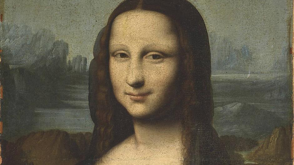 "Die ""Hekking Mona Lisa"", Öl auf Leinwand, 75,9 mal 47 Zentimeter, Taxe 200.000/300.000 Euro."