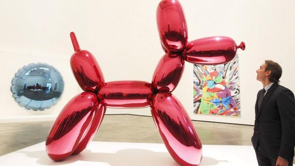 Jeff Koons hat eine neue Galerie