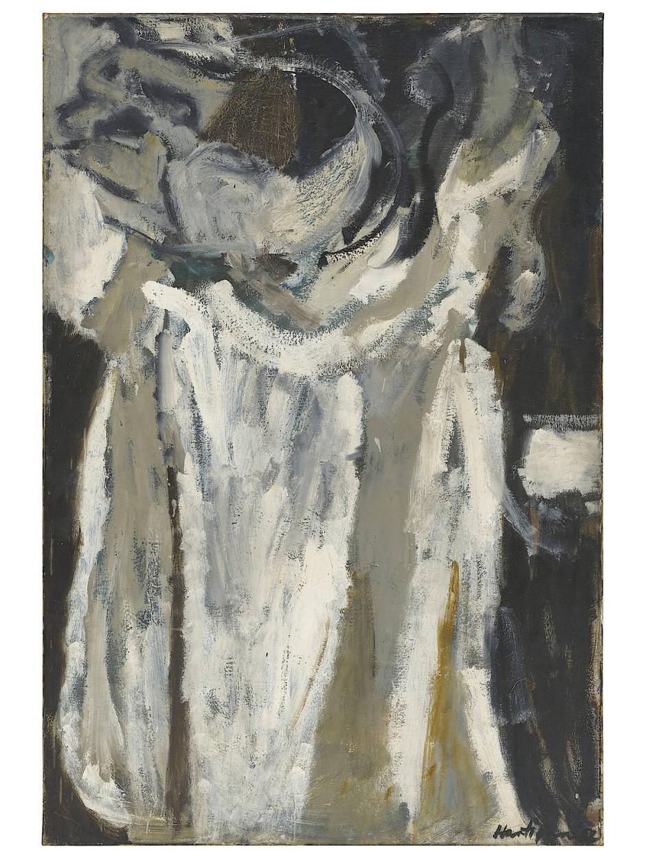 Grace Hartigan, St. Serapion (After Zubarán), 1952, Öl auf Leinwand, 137 x 94,5 cm