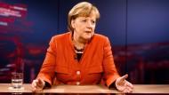 Sie scheint gestärkt, nicht geschwächt: Bundeskanzlerin Angela Merkel nach dem Abbruch der Sondierungsgespräche.