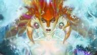 """Wasserfeste Maschinen: Die """"Naga Sirene"""" – hier als gezeichnete Illustration – versetzt ihre Gegner mittels Gesangs in eine """"magische Stasis""""."""