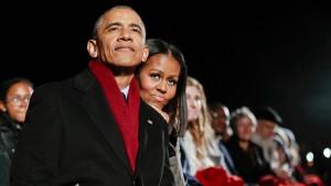 Die Obamas werden Netflix-Produzenten