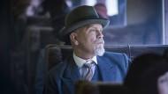 Sein Detektiv hat nichts mehr von der Gemütlichkeit, mit der man die Figur von Agatha Christie früher verband: John Malkovich als Hercule Poirot.