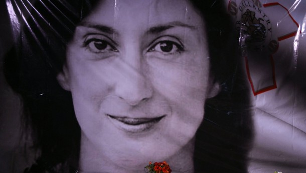 Fünfzehn Jahre Haft für den Mörder von Daphne Caruana Galizia