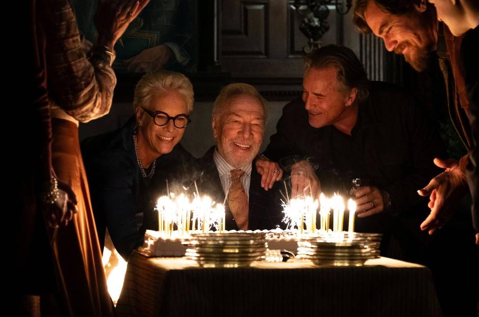 Happy Birthday: Jamie Lee Curtis, Christopher Plummer und Don Johnson in Feierlaune.