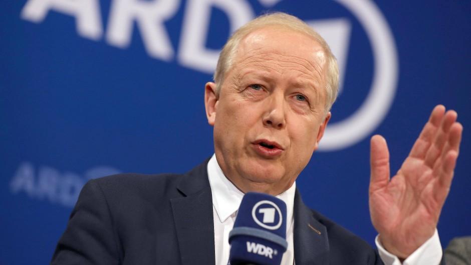Wirkt ausgleichend: Der WDR-Intendant und ARD-Vorsitzende Tom Buhrow.