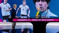 Sie versuchen es ja: die EM bei Magenta TV