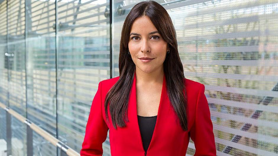 Wechselt das Nachrichtenbüro: Aline Abboud.