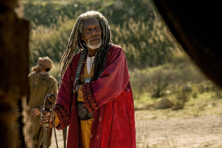"""In """"Ben-Hur"""" spielte Morgan Freeman den Scheich Ilderim, im Widerstand gegen die Römer."""