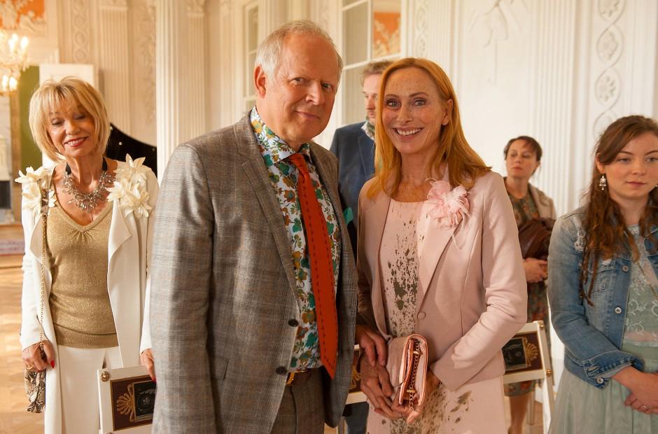 Spielen die Eltern des Bräutigams: Axel Milberg und Andrea Sawatzki als Gerald und Gundula Bundschuh.