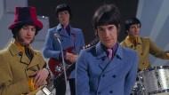 Farbenfroh: Die Kinks bei einem Auftritt im Jahr 1968.