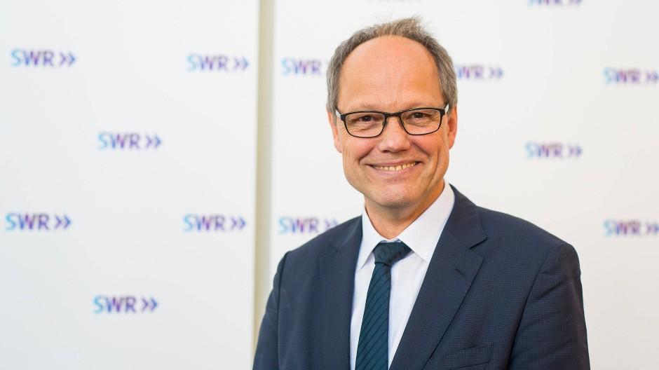 Frisch gewählter Intendant des SWR: Der ehemalige Chefredakteur von ARD-aktuell