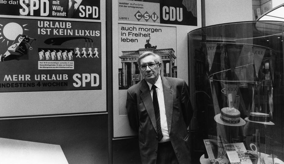 """Im Bonner """"Haus der Geschichte""""."""