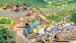 Die Gallier ziehen nach Italien