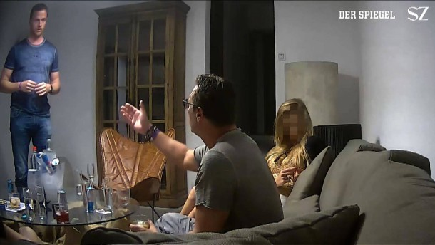 Nackte Tatsachen im Ibiza-Video