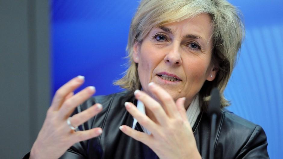Sie verspricht die größten Einsparungen: Die ARD-Vorsitzende und MDR-Intendantin Karola Wille.