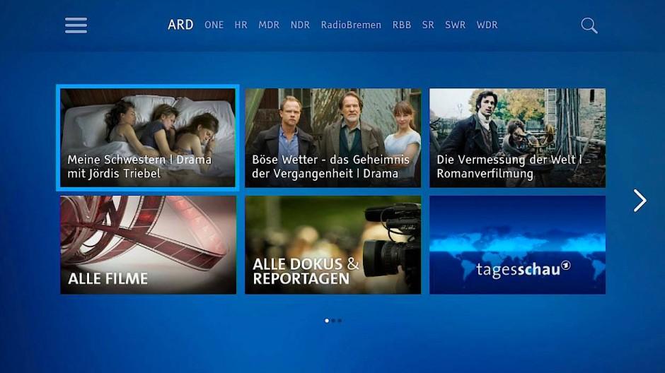 Blick aus der Gegenwart in die Zukunft: Mit ihren Medientheken wollen ARD und ZDF zu Plattformen werden.