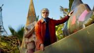 """Paradies auf Erden: André Heller in dem von ihm gestalteten Park """"Anima"""" bei Marrakesch."""