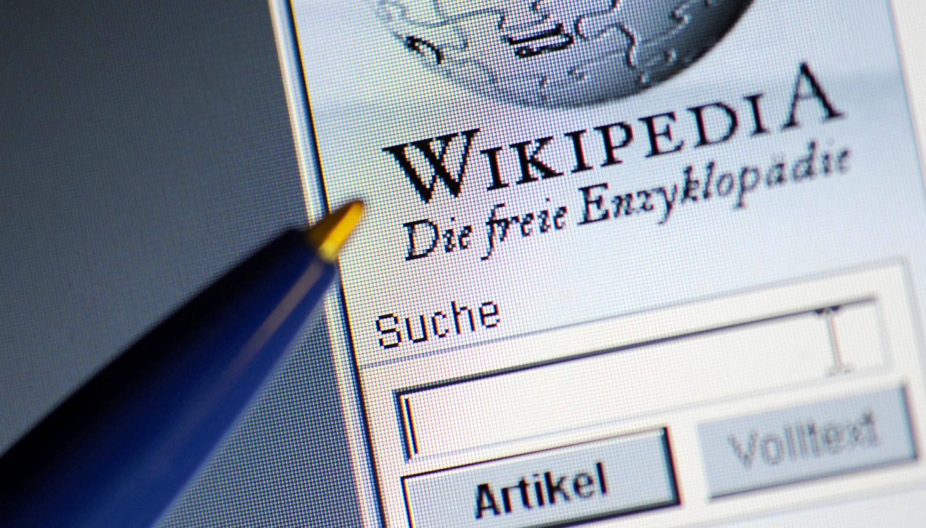 Was Erwachsene im Netz bei Wikipedia suchen