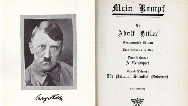 Bei Hitler wird die Löschtaste gedrückt
