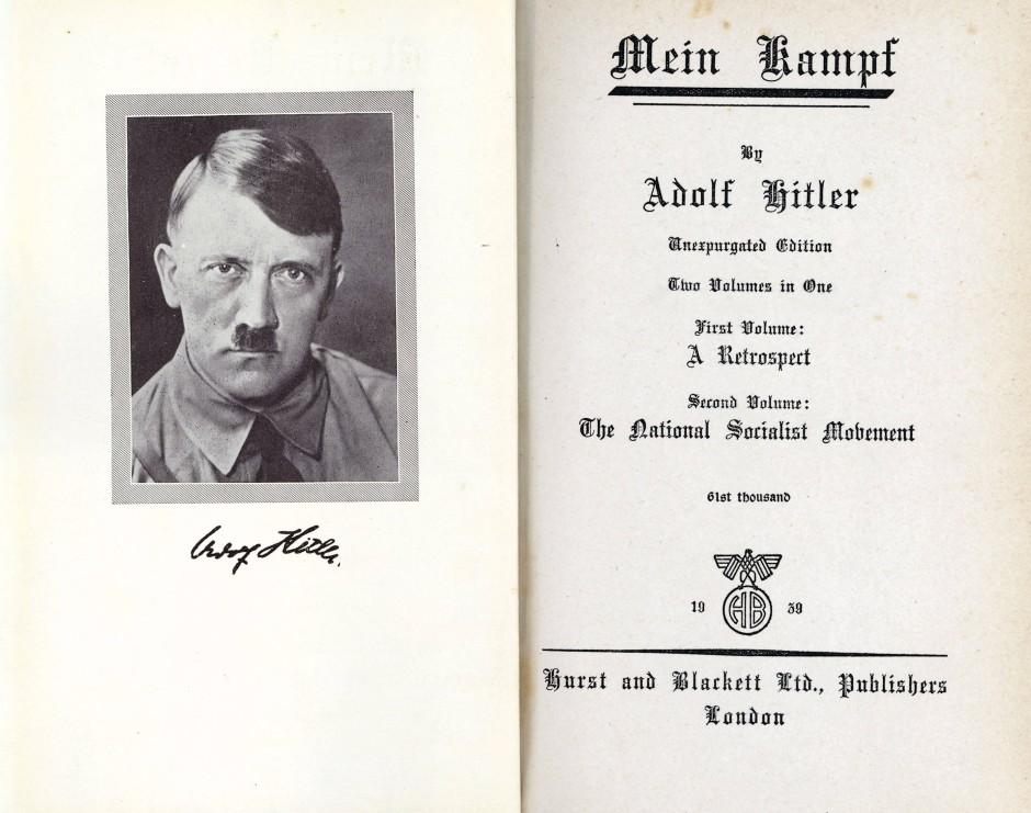Mein Kampf Lesen