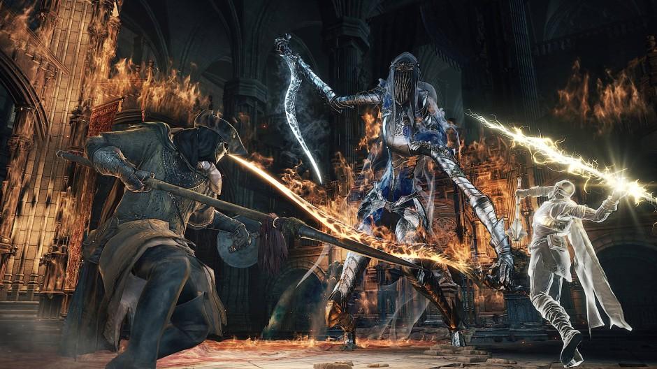 """Gott vergibt - nicht so """"Dark Souls"""": Wer hier das Ausweichen vergisst kommt nicht weit und ist sehr schnell sehr frustriert."""