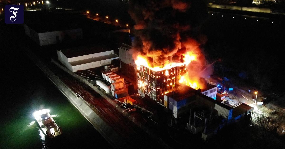 Am Rhein brennt Europas Datenschatz - FAZ - Frankfurter Allgemeine Zeitung
