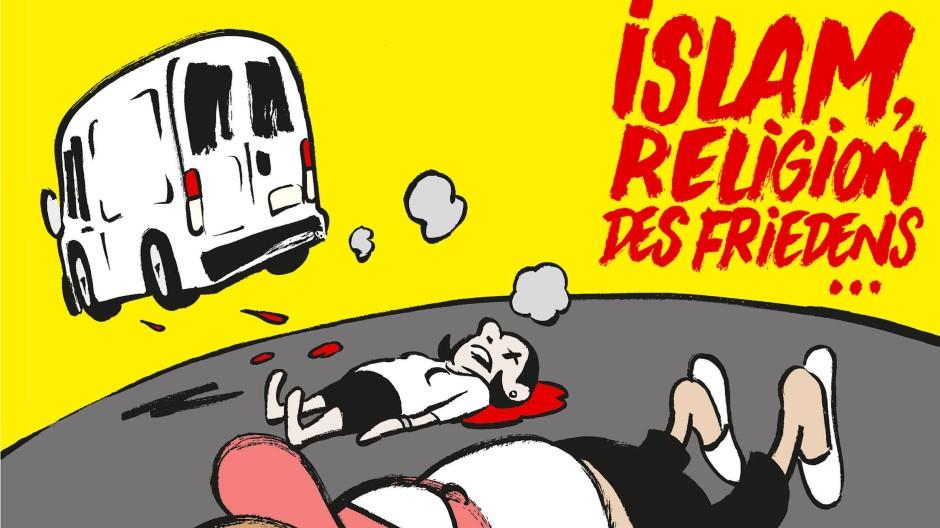 Extremismus Kritik Charlie Hebdo Cover Sorgt Erneut Fur Debatten