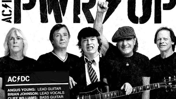 Drehen die alten Herren von AC/DC wieder auf?