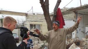 Mitfühlen, um aus Syrien zu berichten