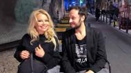 Sie verstehen sich: Pamela Anderson und Srecko Horvat