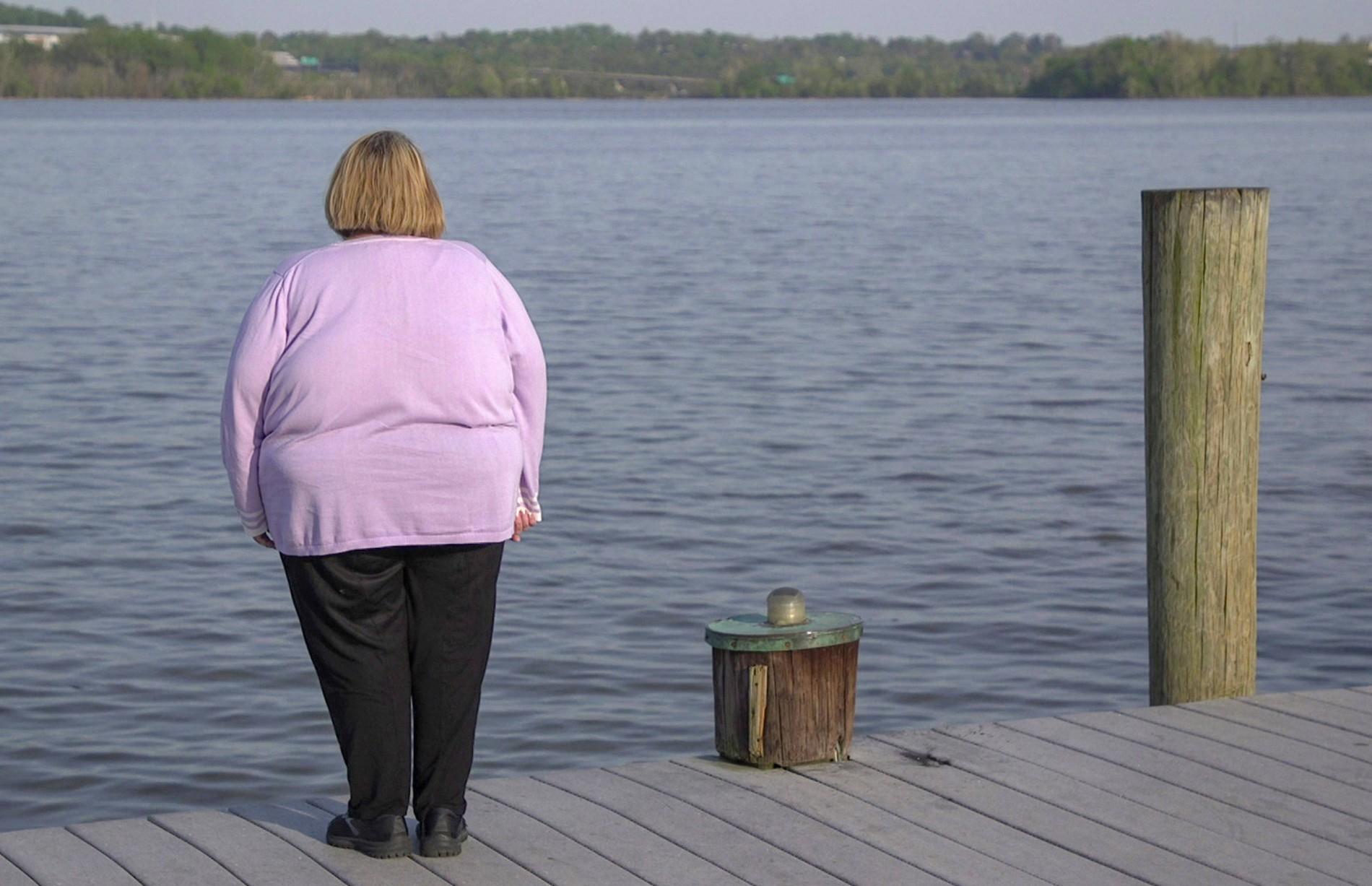 Sie ist fett und wird immer fetter