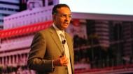 Das hier ist Wirklichkeit: Fadi Chehadé bei der Eröffnung der Icann-Tagung in Singapur