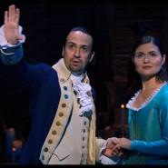 Grandioses Talent mit politischem Gespür: Lin-Manuel Miranda als Alexander Hamilton, Phillipa Soo als Eliza Hamilton.