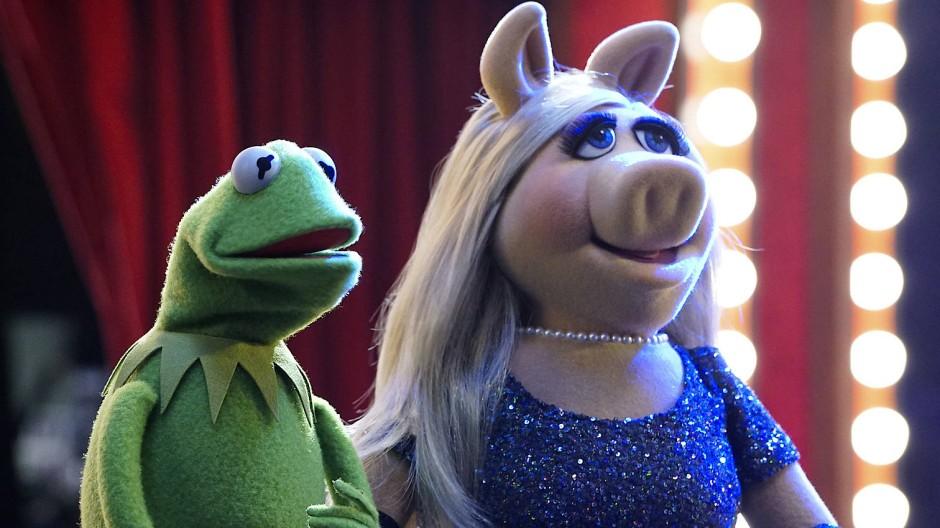 Sind kein Paar mehr: Kermit der Frosch und Miss Piggy.