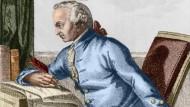 Von Königsberg aus behielt er die Welt im Blick: Immanuel Kant.