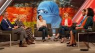 Islam und Bundesrepublik: Jan Fleischhauer, Bettina Gaus, Sandra Maischberger, Haluk Yildiz und Necla Kelek (von links) waren sich in kaum einem Punkt einig.