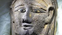 Die Mumie mit der goldenen Maske
