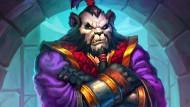 """Verstimmter Panda: In """"Blizzards"""" Fantasy-Kartenspiel """"Hearthstone"""" ist """"Herr Chu"""" ein """"Schwarzmarkt-Bodyguard"""" und der """"neue Muskel des B.Ö.S.E.N""""."""