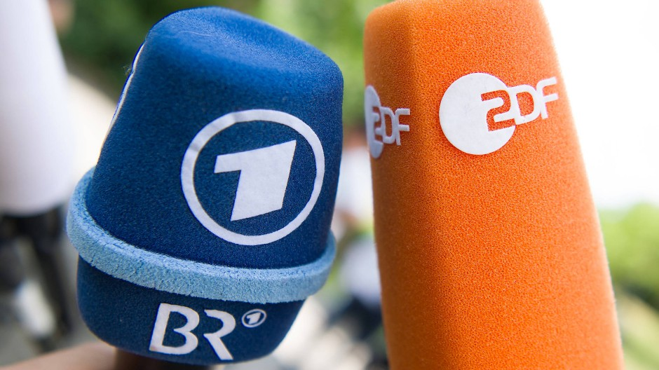 Aufnahme läuft: ARD und ZDF sind immer auf Posten, in so mancher Hinsicht.